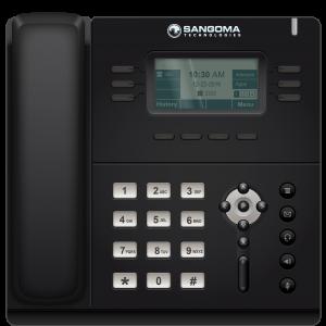 teléfono Ip profesional negro de Jabasat