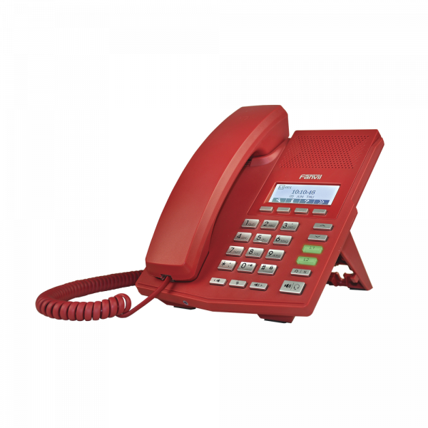 teléfono Ip rojo profesional Jabasat