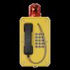 Teléfono de emergencia amarillo por los profesionales Vozell