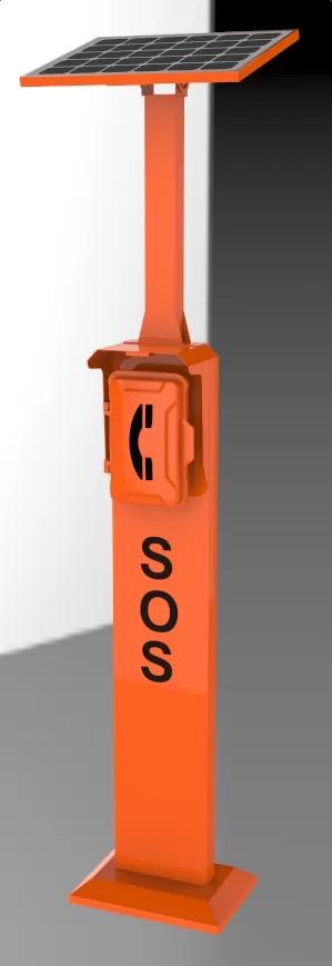 torre de llamadas de emergencias
