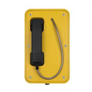 Teléfono industrial y profesional amarillo Vozell