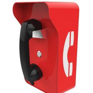 Teléfono industrial resistente a la intemperie