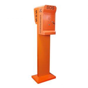 Torre telefónica SOS de emergencia Vozell