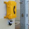 Teléfono industrial estanco amarilllo Vozell